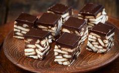 Πανεύκολα σοκολατένια κυβάκια με μπισκότα με 3 μόνο υλικά - Daddy-Cool.gr
