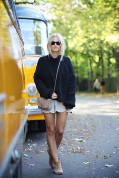 20 Formas De Usar Un Sweater Oversized Este Otoño | Cut & Paste – Blog de Moda