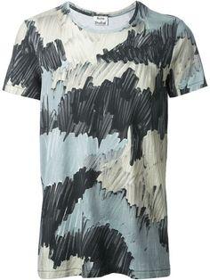 b93a1bdef6d9 Acne Studios Camouflage Print T-shirt - Eraldo - Farfetch.com Clothes 2018,