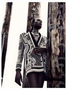 Futuristic Urban #Fashion - The Editorial by Julia Noni for Obsession Magazine Stars #AjakDeng
