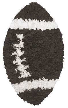Add a functional and fashionable rug to your nursery! Shop our many styles including the Shaggy Raggy Football Rug for your nursery design pleasure! Football Nursery, Football Rooms, Sports Themed Nursery, Boys Football Bedroom, Baby Boy Rooms, Baby Boy Nurseries, Baby Room, Nursery Rugs, Nursery Themes