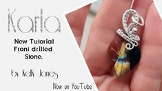 Wire Wrapping Tutorial, Clay Videos, Wire Jewelry, Jewlery, Wire Work, Drill, Polymer Clay, Weaving, Stone