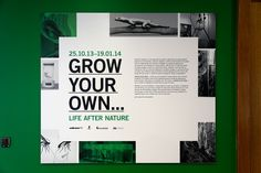 Grow Your Own… is an exhibition created by Science Gallery Dublin that explores the applications and implications of synthetic biology. I worked with Ruža Leko to design the exhibition catalogue, signage, posters and micro website. Science Gallery, Grow Your Own, Printed Materials, Visual Identity, Signage, Typography, Museum, Life, Letterpress