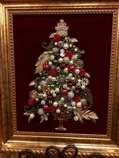 8x10 jewelry tree by Beth Turchi 2016