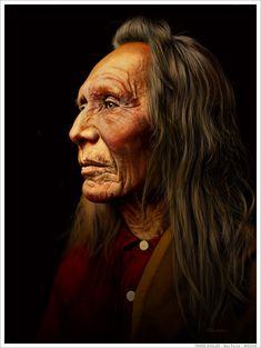 Three Eagles Nez Perce