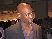 """David Bryan """"D.B."""" Woodside (born July 25, 1969) is an American actor. He is perhaps best known for his portrayal of White House Chief of Staff (and later President) Wayne Palmer on the FOX action/drama series 24.[1] Additionally, he is noted for his roles as bass singer Melvin Franklin in the NBC miniseries The Temptations, and as Robin Wood on the WB/UPN series Buffy the Vampire Slayer."""