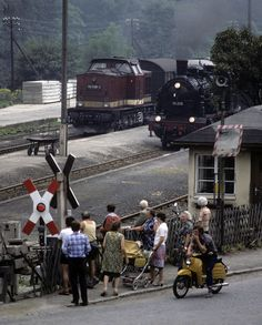1983 GDR Steam Special at ?Annaberg-Buchholz.
