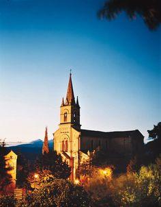 A church in Bonnieux, France