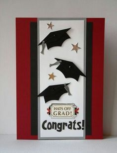 Graduation Handmade Card by SusanTracie on Etsy, Graduation Cards Handmade, Greeting Cards Handmade, Graduation Ideas, Karten Diy, Congratulations Card, Kids Cards, Baby Cards, Creative Cards, Cute Cards
