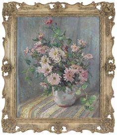 E Cole Antique Original Fine Oil Painting Still Life Flowers Signed Now Oils, Still Life Flowers, Painting Still Life, Contemporary, The Originals, Antiques, Rose, Ebay, Art