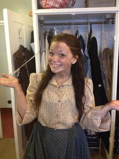Carrie hope Fletcher as farmer girl in les mis london at the Queens theatre (cast Queens Theatre, Musical Theatre, Carrie Hope Fletcher, Phil Lester, Dan Howell, Pictures Of People, Attractive People, Role Models, Carry On