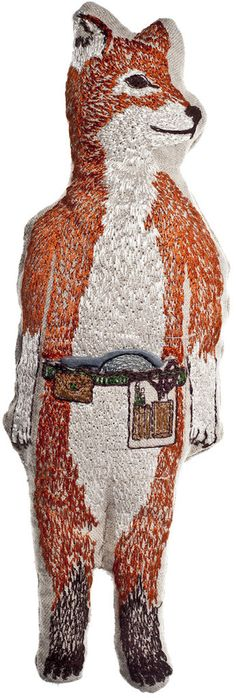 This embroidery artist was featured in the February 2013 issue of Martha Stewart Living. FABULOUS! (Coral and Tusk)