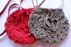 Crochet Bag  Handmade Red Bag  Hand Knitted Beige by karmaistanbul, $35.00