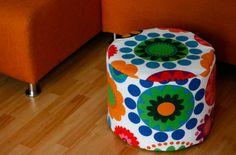 Anleitung zum Nähen dieses Sitzkissens