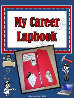Career Research Lapbook from La-NetteMark on TeachersNotebook.com -  (13 pages)  - Engage your students with this Career Researc Lapbook!