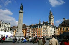 Lille, France - Known throughout Western Europe for its Christmas market. Just a quick train ride from the UK on the Eurostar.