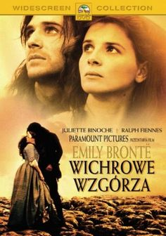 Wuthering Heights Polish  movie poster, version with Ralph Fiennes and Juliette Binoche