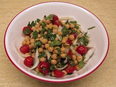 Crown of India Chickpea Salad
