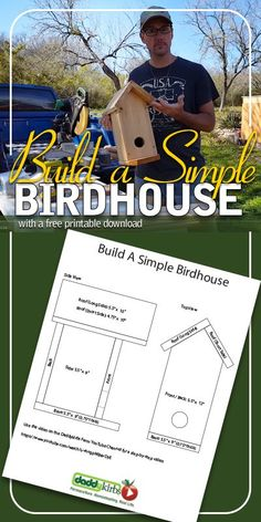 Build A Simple Birdhouse: DIY Birdhouse Plans