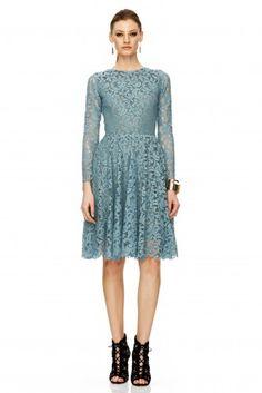 Grey Green Dress - PNK Casual