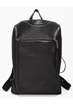 Maison Martin Margiela Line 11  Slouch Leather Backpack