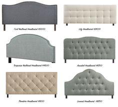 danielle oakey interiors: Upholstered Headboards Under $200.00!