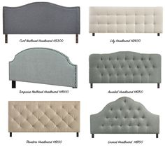 Upholstered Headboards Under $200.00!
