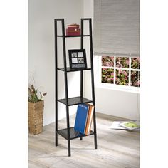 """You'll love the Eason 58"""" Leaning Bookcase at Wayfair - Great Deals on all Furniture  products with Free Shipping on most stuff, even the big stuff."""