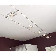 Luminaire Sur Rail, Luminaire Mural, Rail Plafond, Spot Sur Rail, Room Lights, Ceiling Lights, Zen Kitchen, Kitchen Ideas, Living Room Designs
