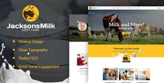 Dairy Farm & Eco Products Theme by AncoraThemes CURRENT VERSION 1.0.1 (see Change log at the bottom of this page) This is our new responsive WordPress theme with clean design c