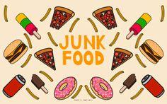 Goodie Pack 2: Junk Food Wallpaper free for download