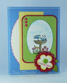 Discover Stamping: Thinking of Spring..... #stampinup #thinkingofyou