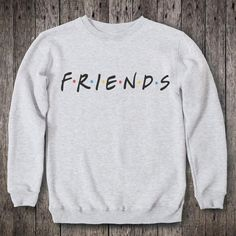 New Fashion Friends TV Show Sweatshirt Pullover Long Sleeve Jumper for Mens Womens Sweatshirts