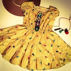 Girls clothing (sizes: 12 years) with a boho feel. Freckles, 12 Months, Girl Outfits, Summer Dresses, Chicken, Boho, Inspiration, Clothes, Fashion