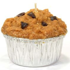 Muffin Chocolate Chip Candle