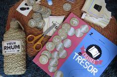 Un livre-kit « Chasses au trésor », avec tout, vraiment tout pour les organiser