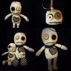 Custom orders #kindredstitches #ooak #voodoo #plushie #keychain