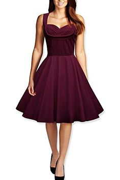 Black Butterfly 'Aura' Classic Clarity 50's Dress (Plum Purple, US 4) Black Butterfly Clothing http://www.amazon.com/dp/B00P1G8PTG/ref=cm_sw_r_pi_dp_IrVVvb0GGXZ49