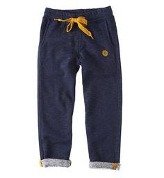 Little Label Sweatpants Chino style Denim Blue Melee (Unisex)