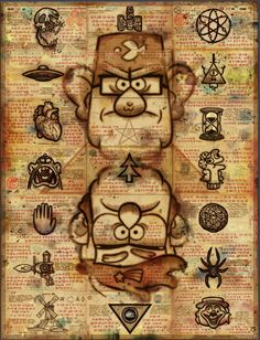 Gravity Falls Final Cryptogram