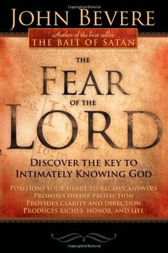 Fear of the Lord by John Bevere - An eye-opener for sure.  Gotta do the Bible Study.  It's even better than the book!