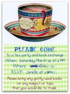tea book party