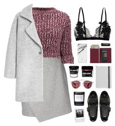 """""""revolution"""" by martosaur ❤ liked on Polyvore featuring Carven, Girls On Film, MANGO, Christian Dior, Burt's Bees, Christian Lacroix, ASOS, Royce Leather, Polaroid and Byredo"""