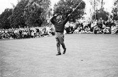 On April 21, 1974 Lee Elder wins the Monsanto Open which qualified him to become the first African American professional golfer to qualify for the Masters Tournament (in 1975).