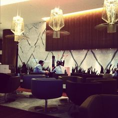 Fairmont Pacific Rim Lobby Lounge. Best. Lounge. Ever.