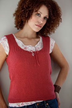 Ravelry: Trellis and Keyhole Tank pattern by Connie Chang Chinchio