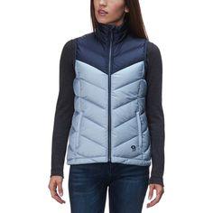Mountain Hardwear - Ratio Down Vest - Women s - Arctic Circle Blue Mountain  Hardwear 96efd0738