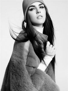 she-models-in-blackandwhite: Hilary Rhoda