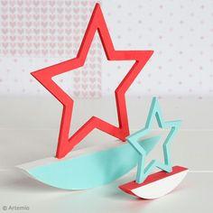 DIY : De jolies étoiles à bascule Deco, Symbols, Letters, Seesaw, Tips, Decor, Letter, Deko, Decorating