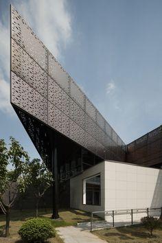 ChenJiaShan Park Tea Lounge Renovation / Atelier Liu Yuyang Architects
